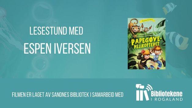 Sommerles «Papegøyehelikopteret» @ Sandnes bibliotek