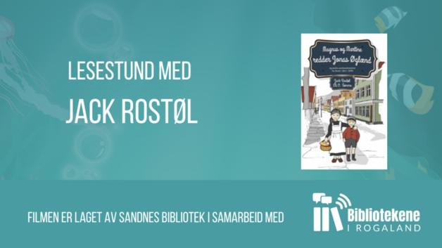 Sommerles «Magnus og Martine redder Jonas Øglænd» @ Sandnes bibliotek