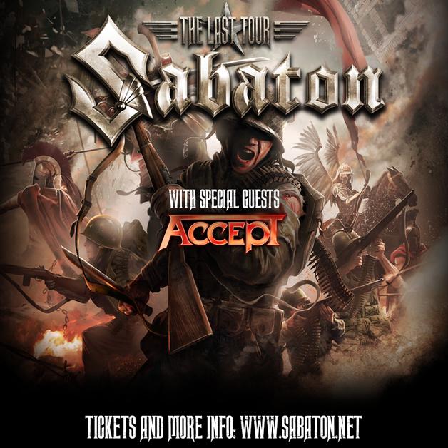 Default sabaton tour poster