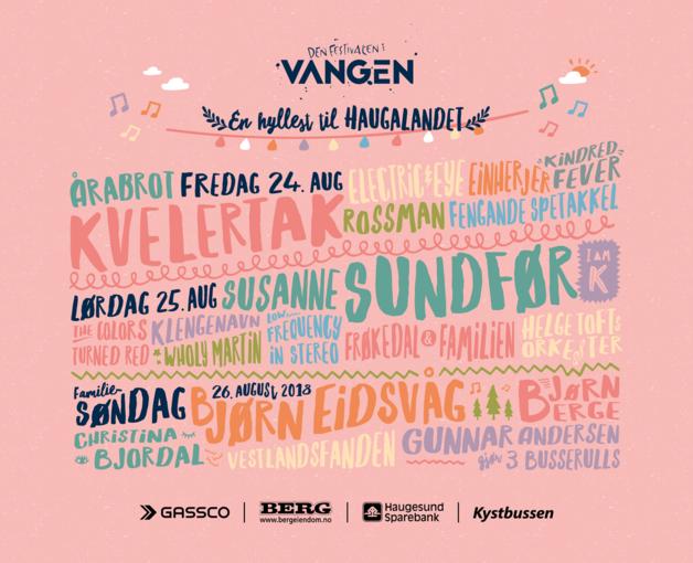 Den Festivalen I Vangen 2020